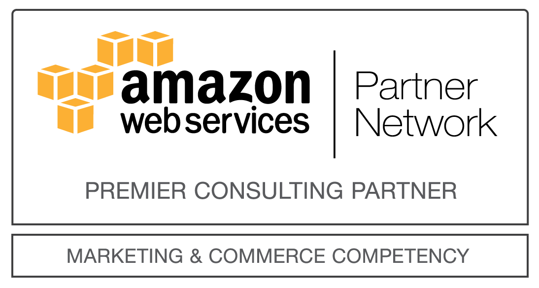 AWS Marketing & Commerce competency logo