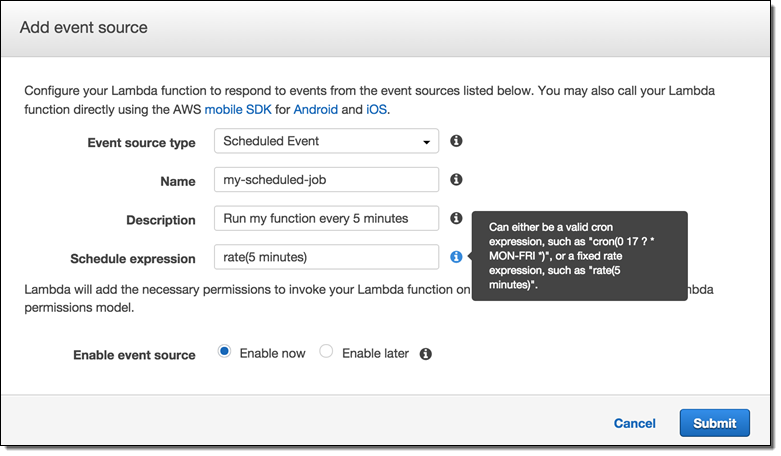 Migrating scheduled workloads into AWS Lambda