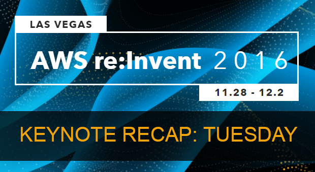 8 things We Learned From Andy Jassy's 2016 re:Invent Keynote
