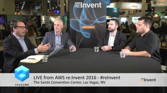 AWS re:Invent 2016 – The CUBE