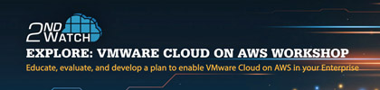 VMware Cloud on AWS Workshop