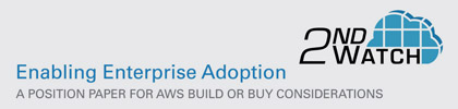 Enabling Enterprise Adoption-Build or Buy Considerations