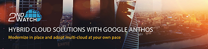 Hybrid Cloud Solutions with Google Anthos
